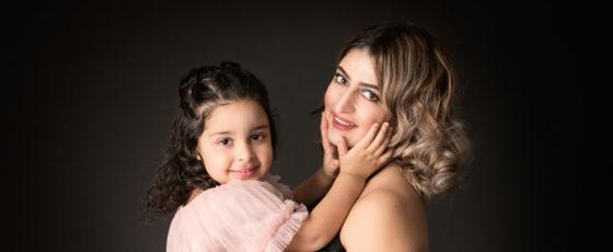 Äiti-tytär-kuvaukset